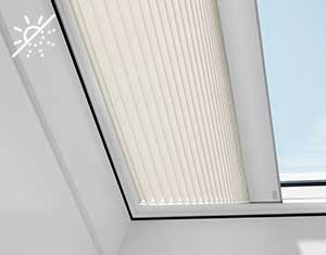 Velux_roof_pleated_blind
